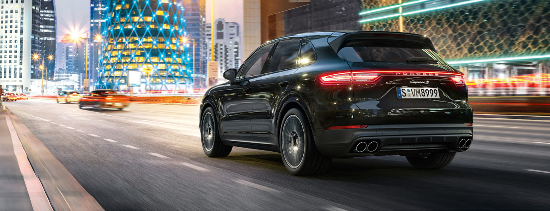 The new Cayenne is here