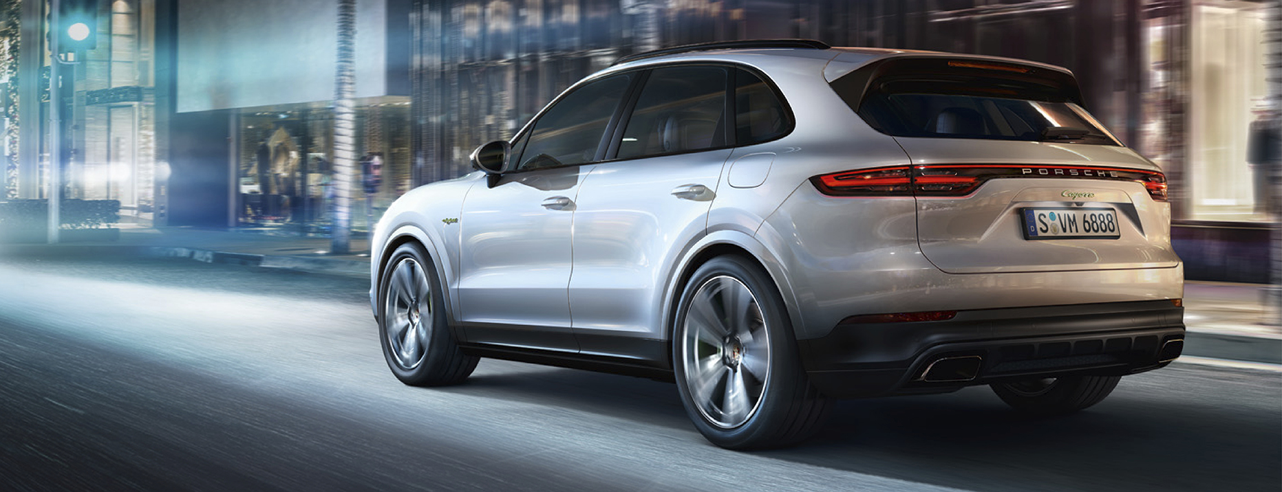 The 340kW Cayenne E-Hybrid